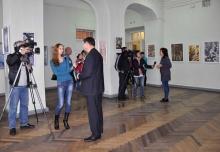 Живой интерес медиа к выставке В. Моругина