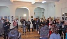 Событие собрало многих почитателей творчества В. Моругина
