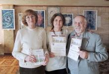 Активисты ЦВМ - О. Федотова, И. Скиданова, Р. Швец