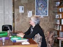 В пространстве картин - О Силе Слова - Дарья Август (Киев)